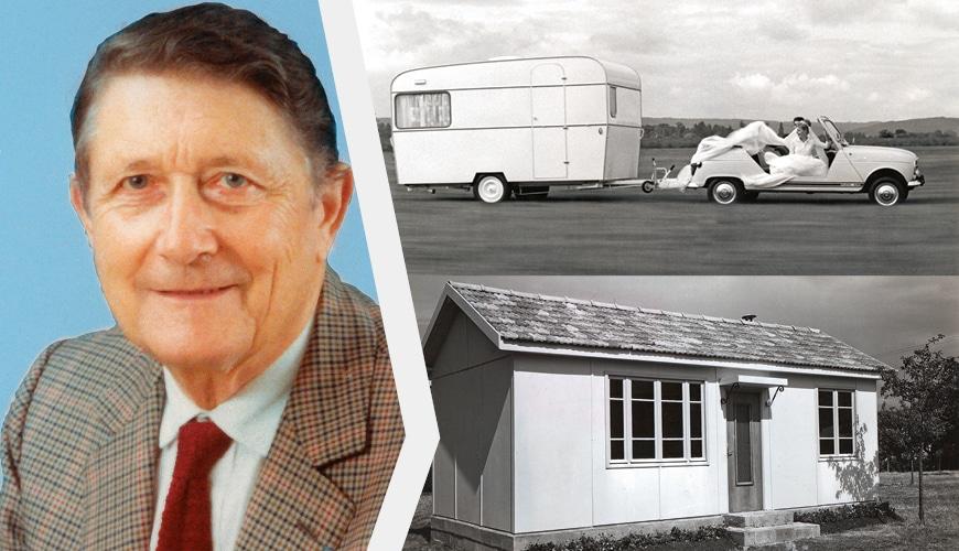 Jean Vandromme, fabriquant de caravanes