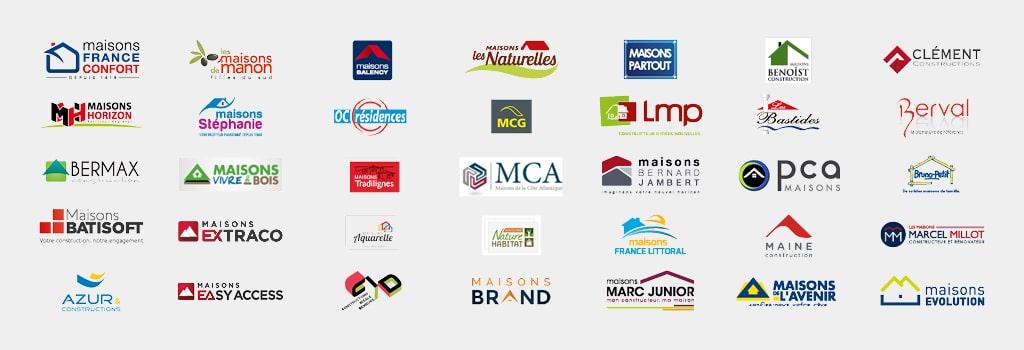 logos des marques construction