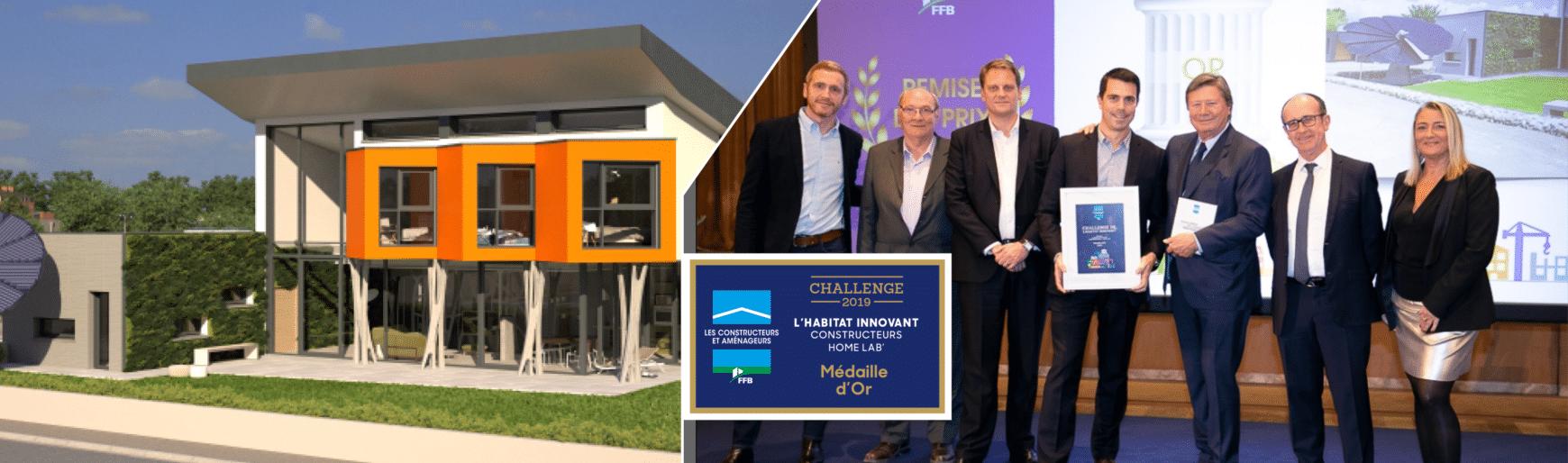 Médaille d'Or au Challenge Habitat Innovant