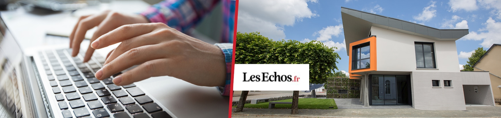 Les Échos : Maisons France Confort révolutionne le pavillon témoin