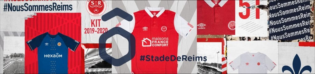 Les maillots du Stade de Reims