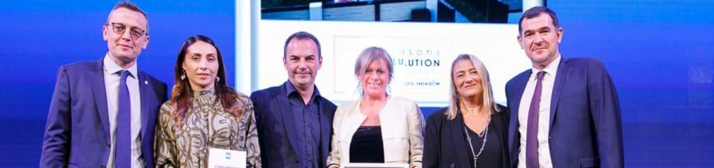 Deux médailles au Challenge Habitat Innovant 2020 !