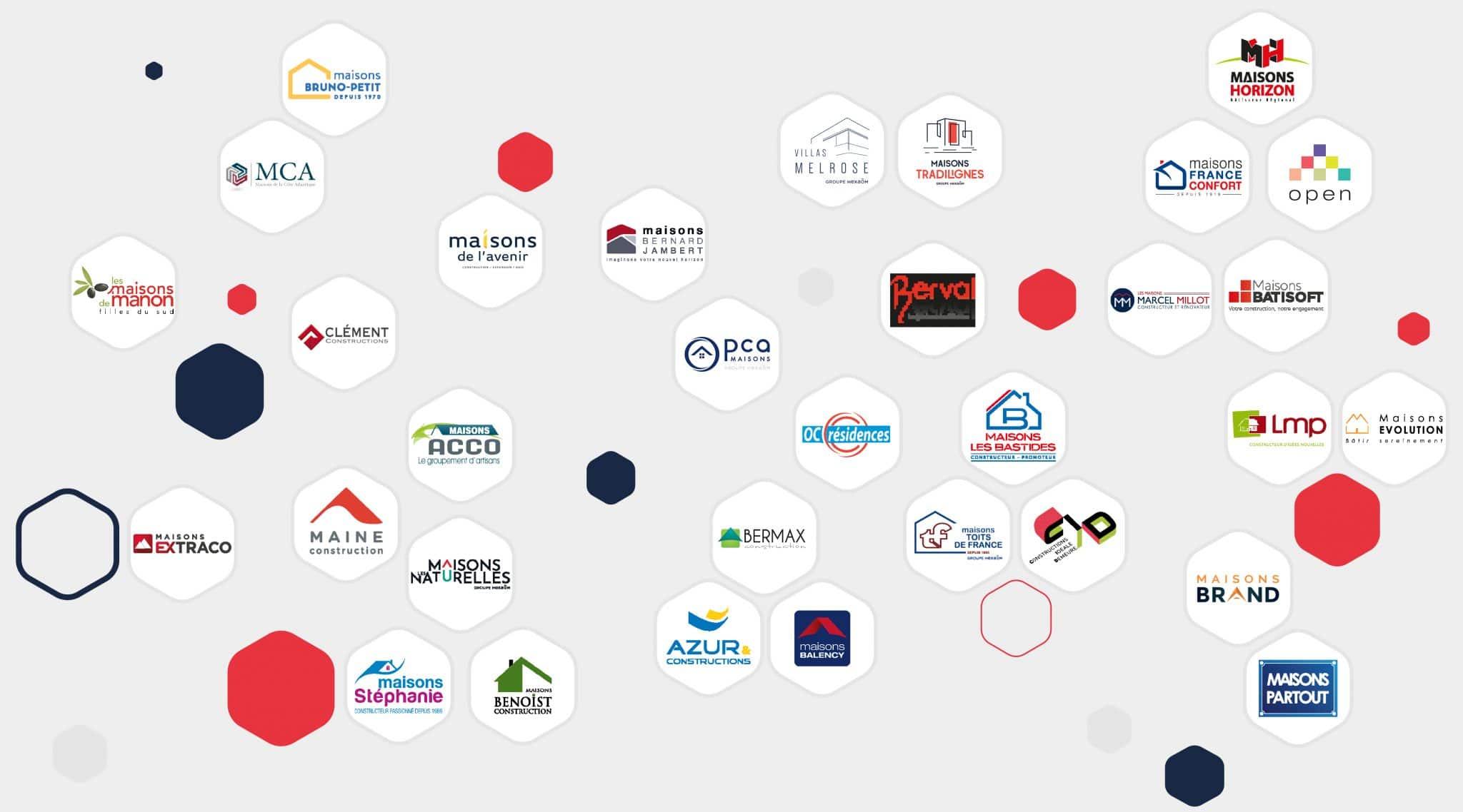 logos marque métier construction